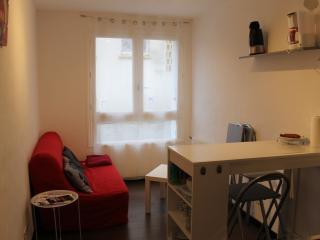 Studio meuble  rdc centre ville , proche port Rhu