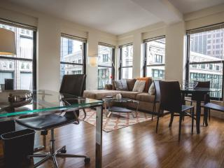 UPSCALE 1 BEDROOM, 1 BATHROOM FURNISHED APARTMENT, Boston