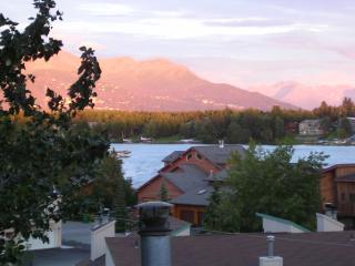 Summer View of Chugach Mountains
