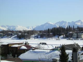 Winter View of Chugach Mountains