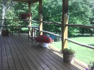 Front Porch Relaxing in the Spring, Summer, & Fall