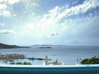 Overlooking Mykonos