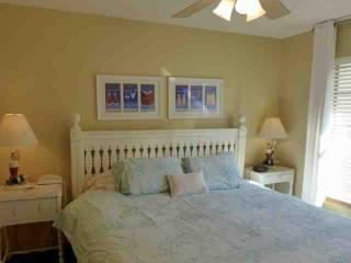 Second Bed with King-Size Bed, Ceiling Fan, and 31 inch Flat-Screen TV.