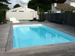 Maison 3*** avec Piscine Chauffée 150m de la plage, Le Bois-Plage-en-Re