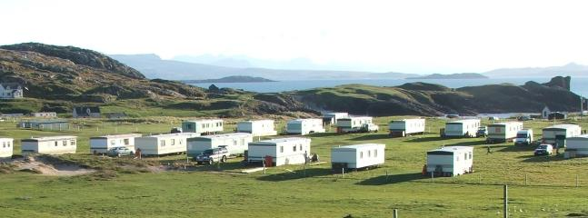 Our caravan park is small and rural. Close to the beach