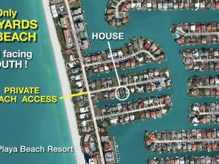 Vanderbilt Beach, 90 Yds to Beach, Private Access