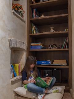 Particolare - Biblioteca per bambini