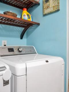 Clean clothes from a quiet machine!