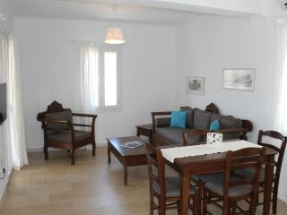 traditional apartments in Pyrgos, Panormos