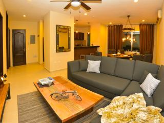 Deluxe 2BR 2BA Apartment w/equipped Kitchen 5ppl., Playa del Carmen