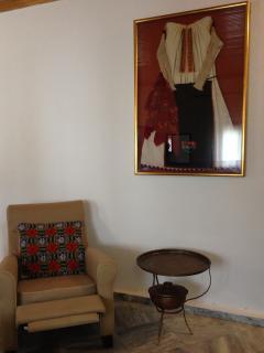 cozy armchairs