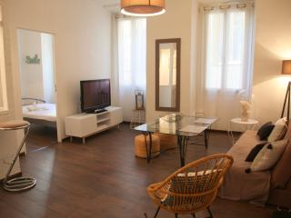 Lou Central: 2 beds flat old town, ac, wifi, Niza