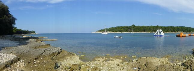 Beautiful Stoja beach.