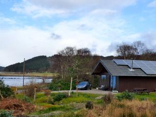 Kirkland Lodge with lovely loch views