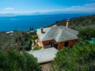 PELION HOMES | Villa Two Cypresses paradise villa with pool!
