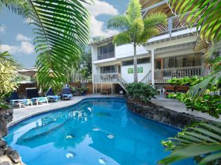 Kona Beach Rental 4* Bdrm, 4 Bath, Private Pool