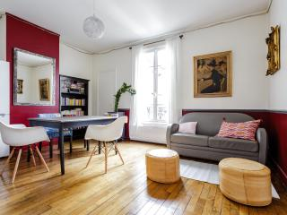 Lovely two room apartment in trendy neighbourhood, París