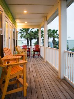 Enjoy the cool ocean breeze on one of our many patios!