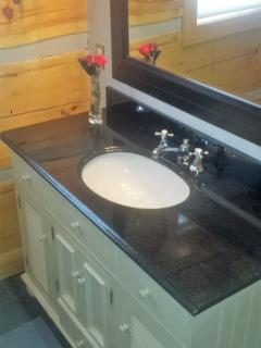 Main floor bath vanity