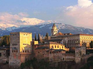 The amazing Alhambra Palace and gardens, Granada