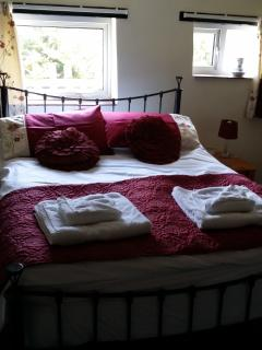 Bedroom in Barn Owls Cottage