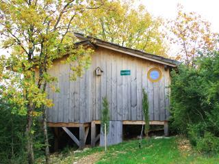 Cabane sur pilotis - La Sapinière, Pont-d'Ain