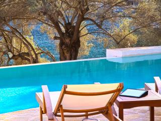 Villa Amoudia - Luxury Villa right on the beach with Private Pool