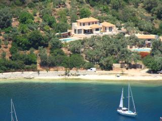 Villa Sivota, Exclusive sea front Villa with 99' Underground Cinema