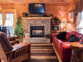 CUTE AND COZY Romantic Cabin in the Woods with Hot tub!, Sevierville