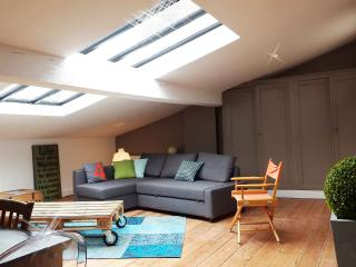 DOWNTOWN BORDEAUX CHARMING ATTIC 1 BEDROOM APT, Bordeaux
