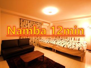 6#Osaka,Namba 12min, 6people