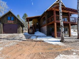 Twin Aspen Lodge - New Construction with private hot tub, Lead