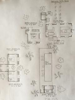 The house layout