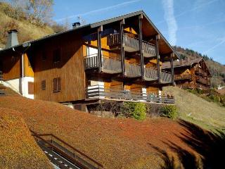 PLEIN SUD D 2 rooms + sleeping corner 4 persons, Le Grand-Bornand