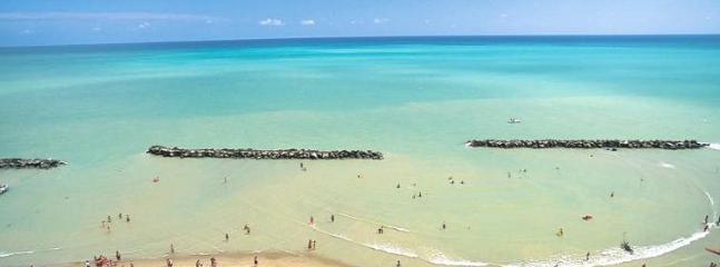 spiaggia a 2 minuti a piedi
