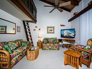 Kona Makai 3-302 Top Floor, Gorgeous 1 Bedroom + Loft and 2 Lanais!