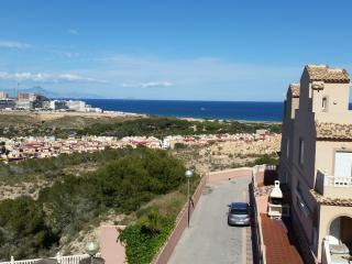 Town house with sea view, Gran Alacant