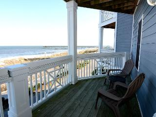 KB Villa C8 -  Oceanfront condo with unobstructed views, Jacuzzi and more, Kure Beach