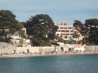 Appartement à moins de 80 m de la plage. 4 pers., Bandol