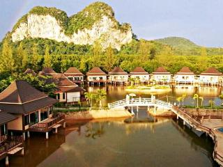 Family villa at lake and hill Krabi, Ao Nang
