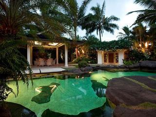 Obama Getaway - luxury home w/ pool, home theater, Kailua