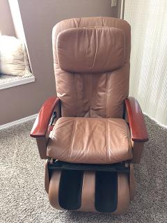 Shiatsu massage chair.