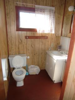 The second three piece bathroom.