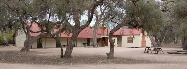 Chowilla's historic Shearer's Quarters are located on the banks of the Murray River near Renmark.
