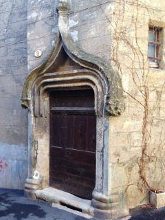 One of the many memorable doors in Pezenas. (CR. M. Terry)