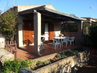 Vecchio Marino bilocale con patio