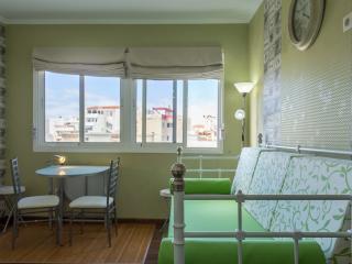 Sala de estar y ventanal