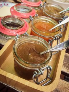 Home made by 'Corinne' ...our jams !