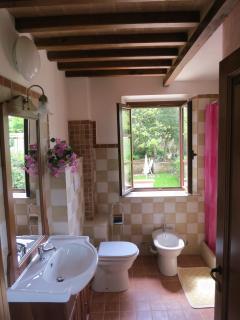 Bagno privato della camera  Rosa