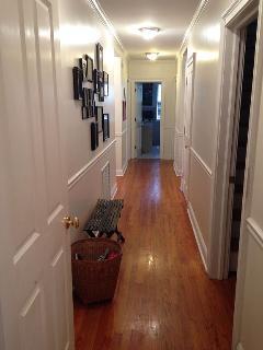 First floor hallway.